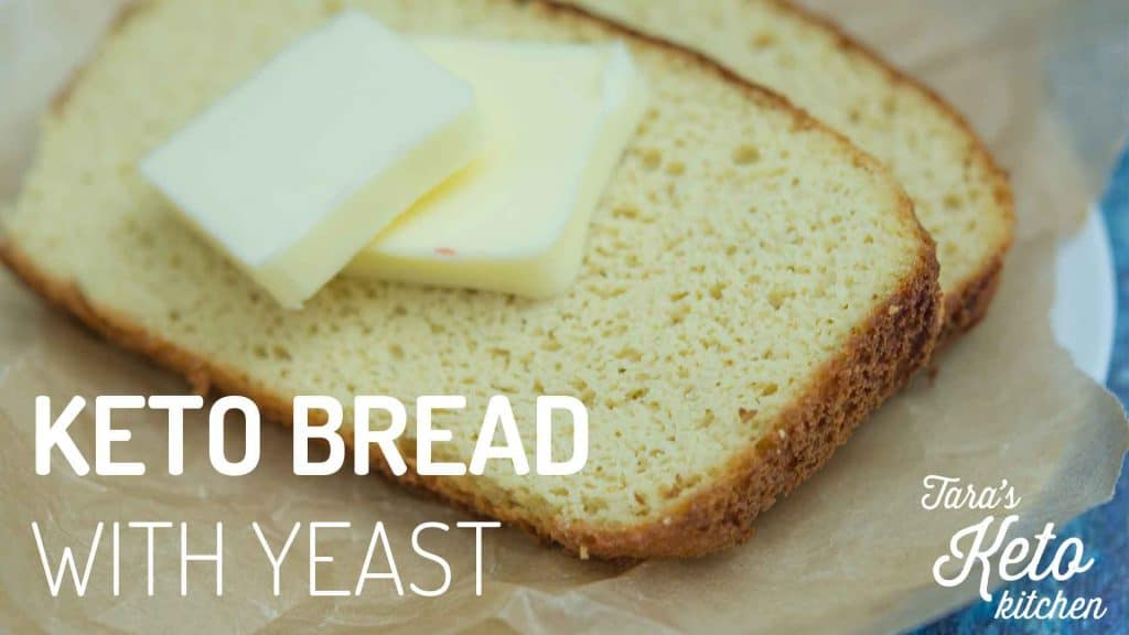 keto bread with yeast made with coconut flour