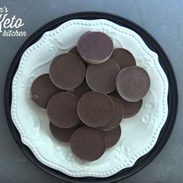 vanilla latte fat bomb
