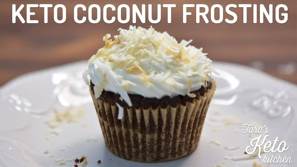 low carb coconut frosting