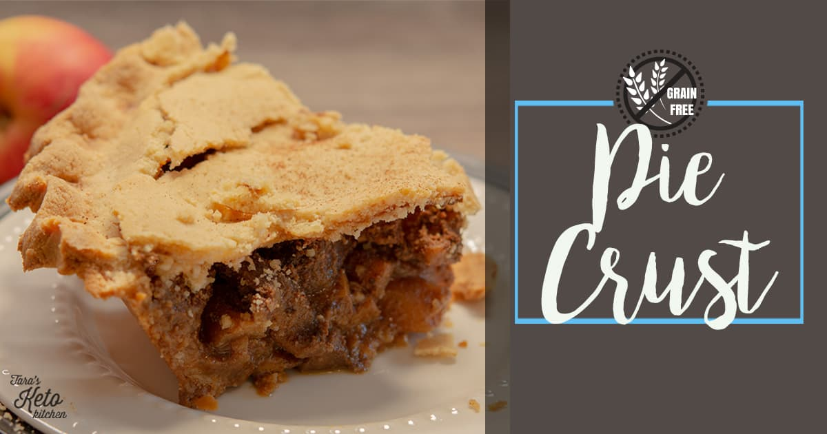 grain free pie crust with title
