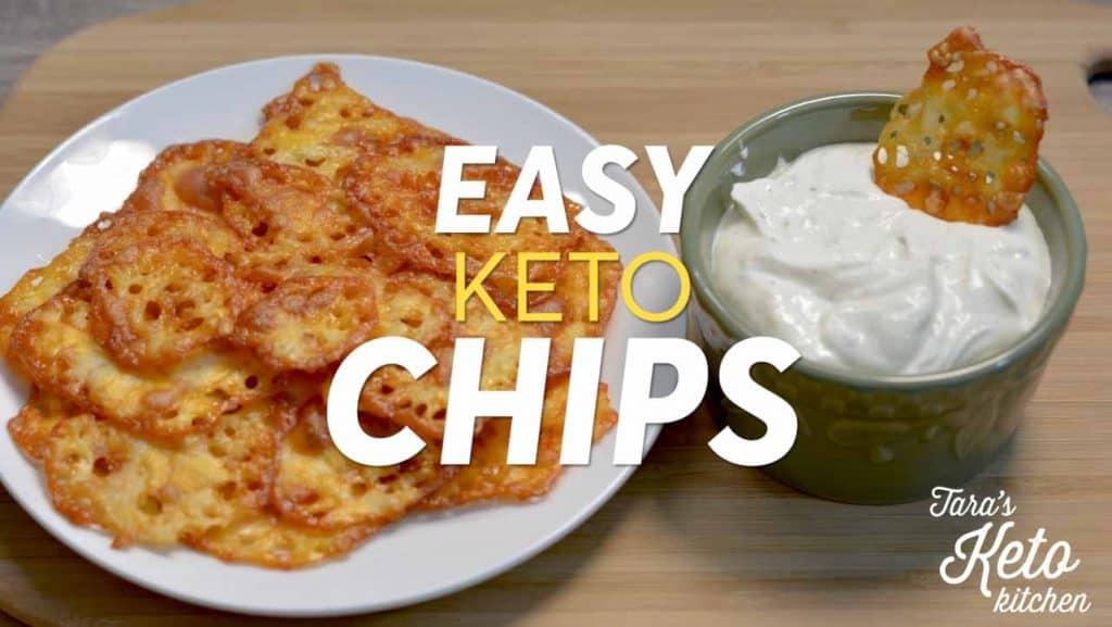 easy keto chips How To Make Keto Cheese Chips
