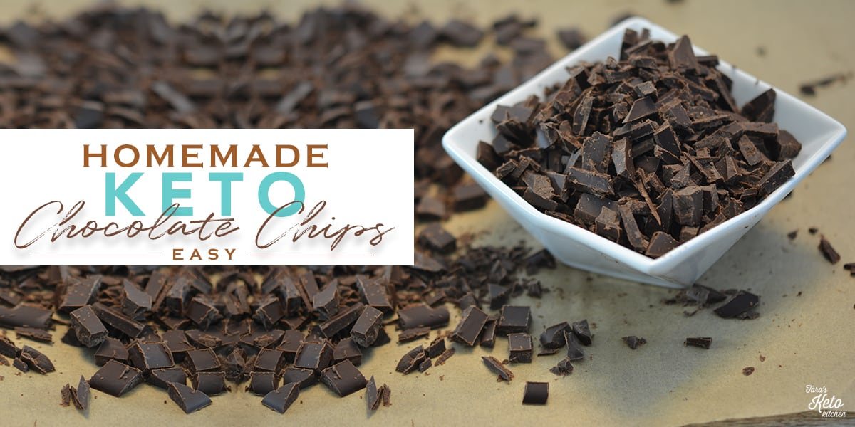Blog Post Image B 1200x600_Homemade Keto Chocolate Chips-Easy