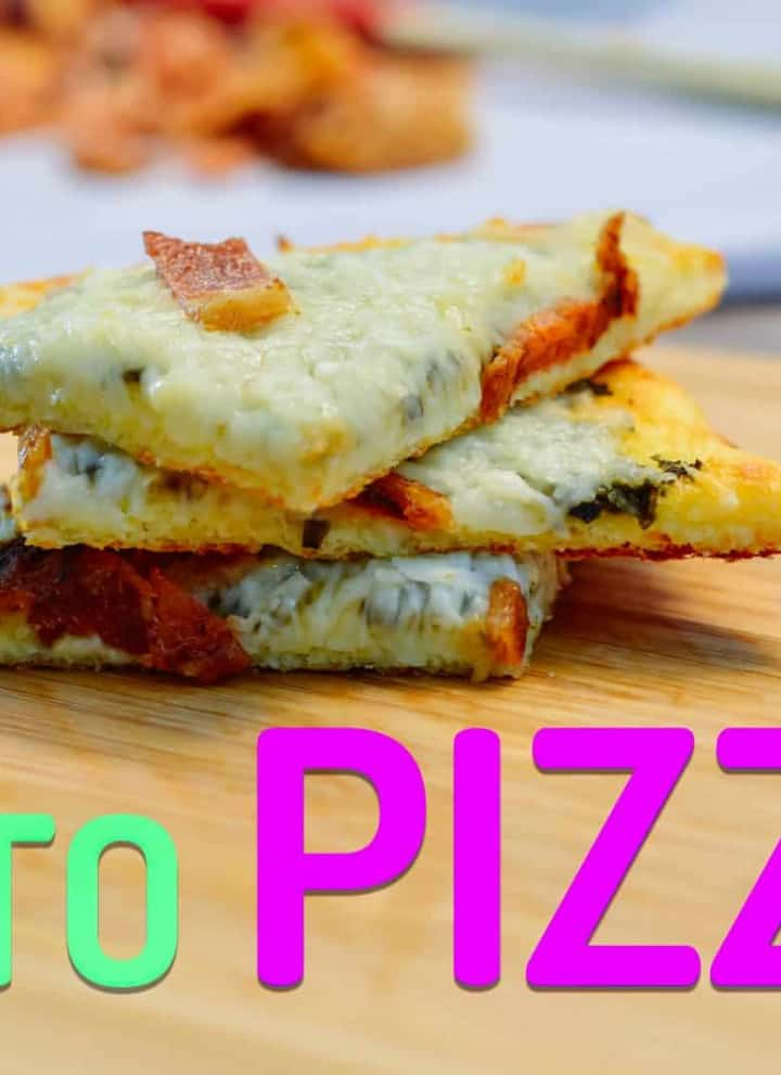 Keto Coconut Flour Pizza