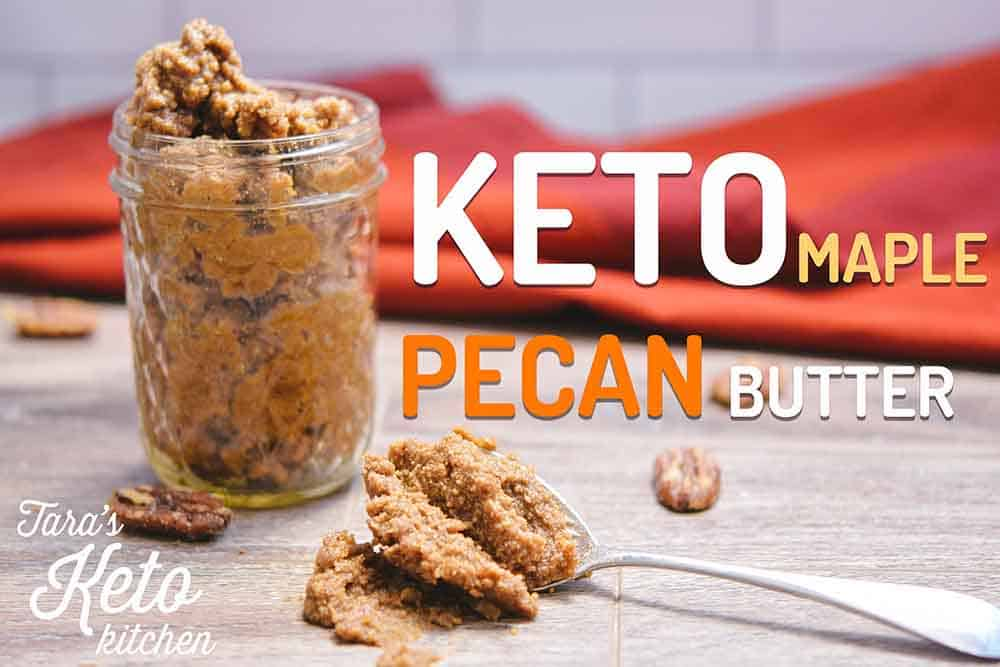 Keto Maple Pecan Nut Butter