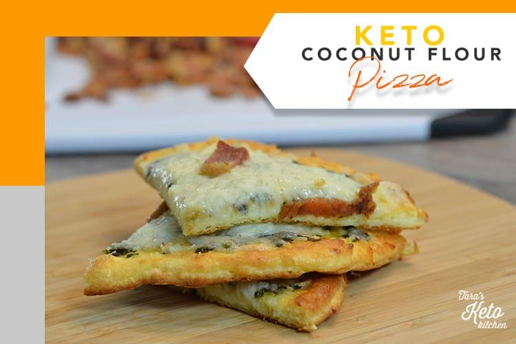 food gawker 750x500_Keto Coconut Flour Pizza