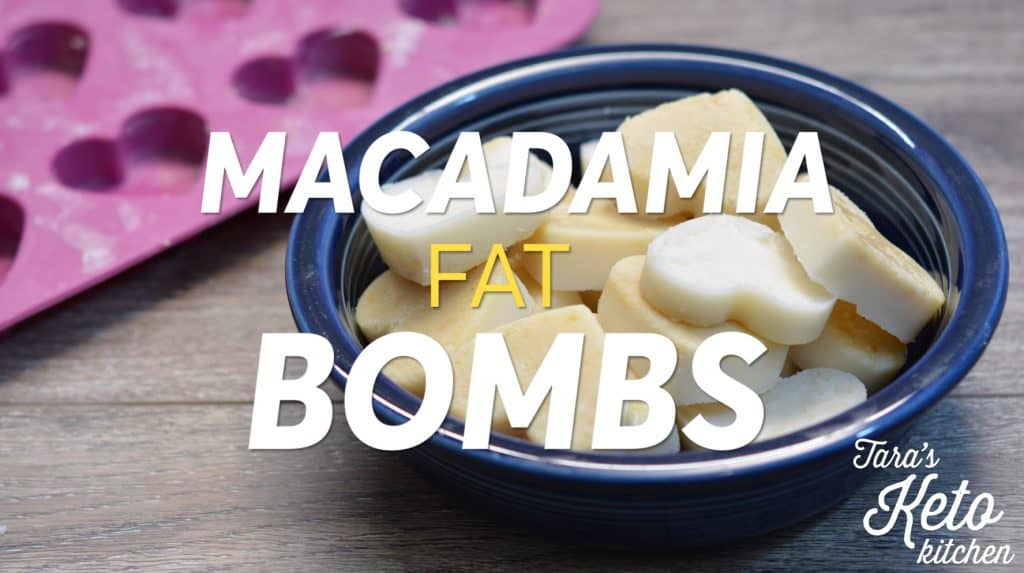 Macadamia Fat Bombs