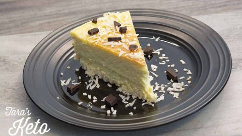 keto coconut cheesecake