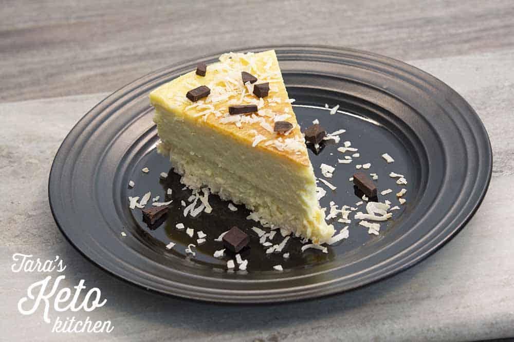 keto coconut cheesecake