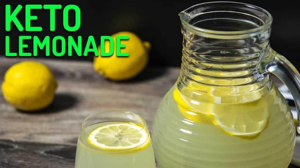 keto lemonade recipe
