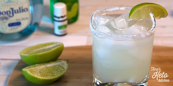 close u image Low Carb Margarita