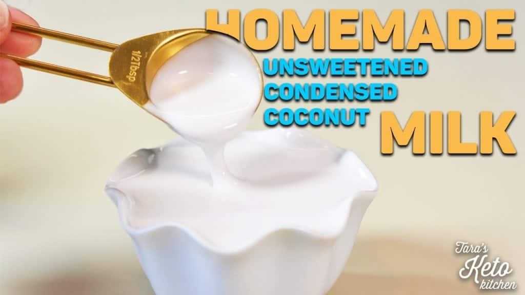 unsweetened condensed milk dairy free keto paleo