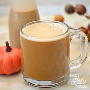 Dairy Free Pumpkin Spice Keto Coffee Creamer