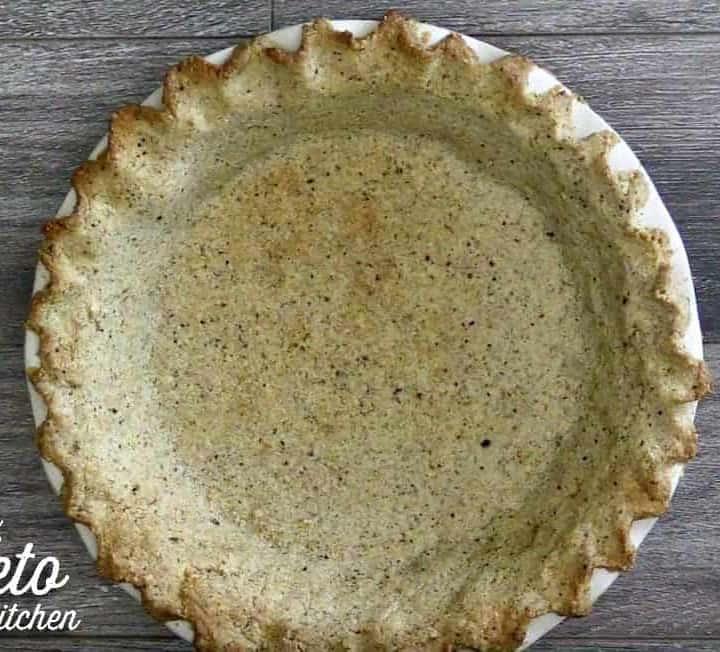 Keto Pie Crust with Hazelnut Flour