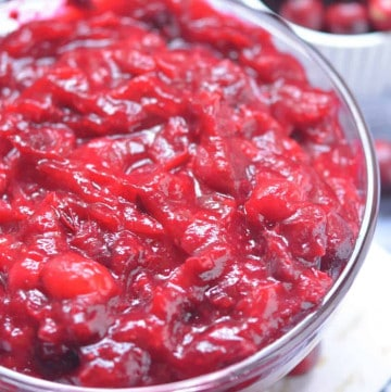 no sugar added keto cranberry sauce photo 3