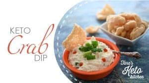 Keto Crab Dip_Blog post 600 x 335