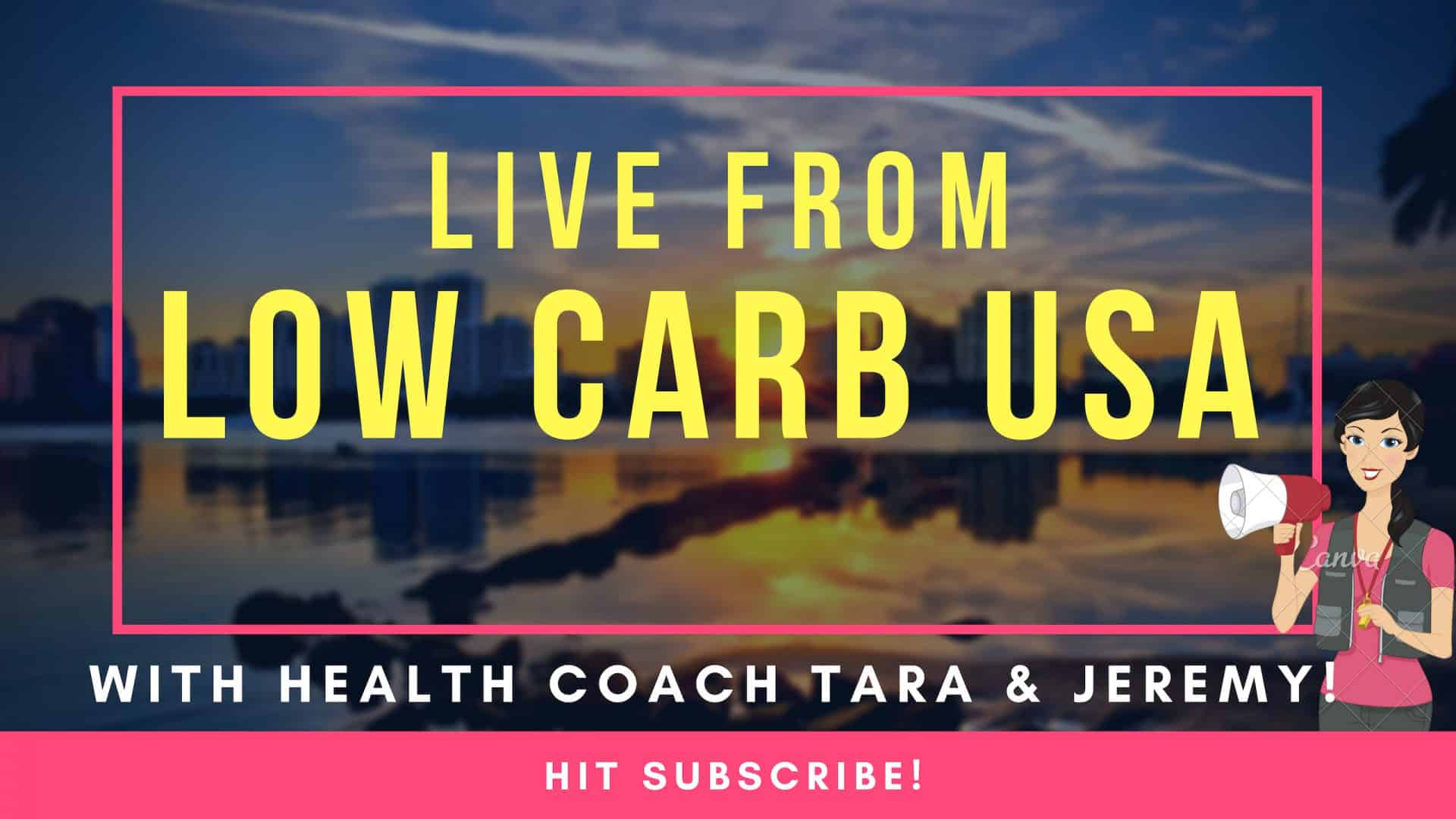 LIVE Video Viralocity LIVE From Low Carb USA