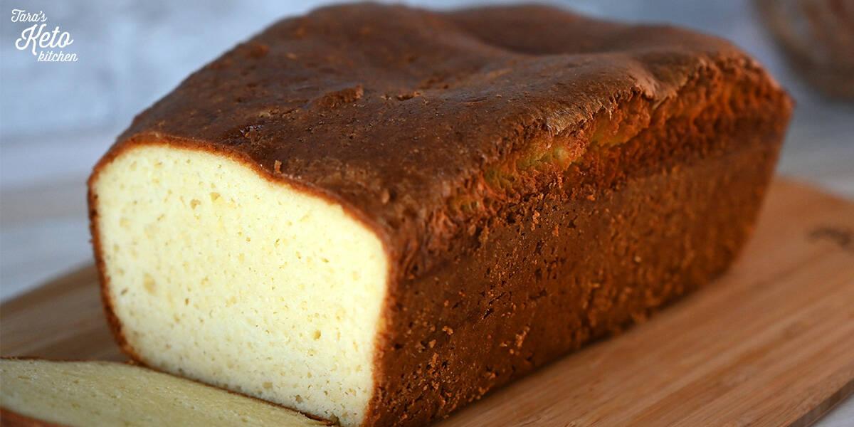 close up image Keto Bread loaf