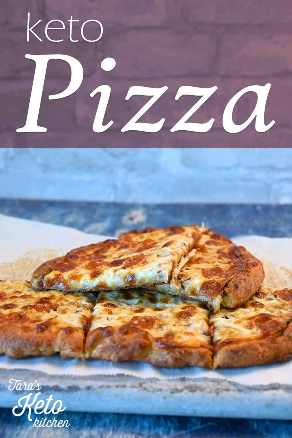 Keto Pizza with title