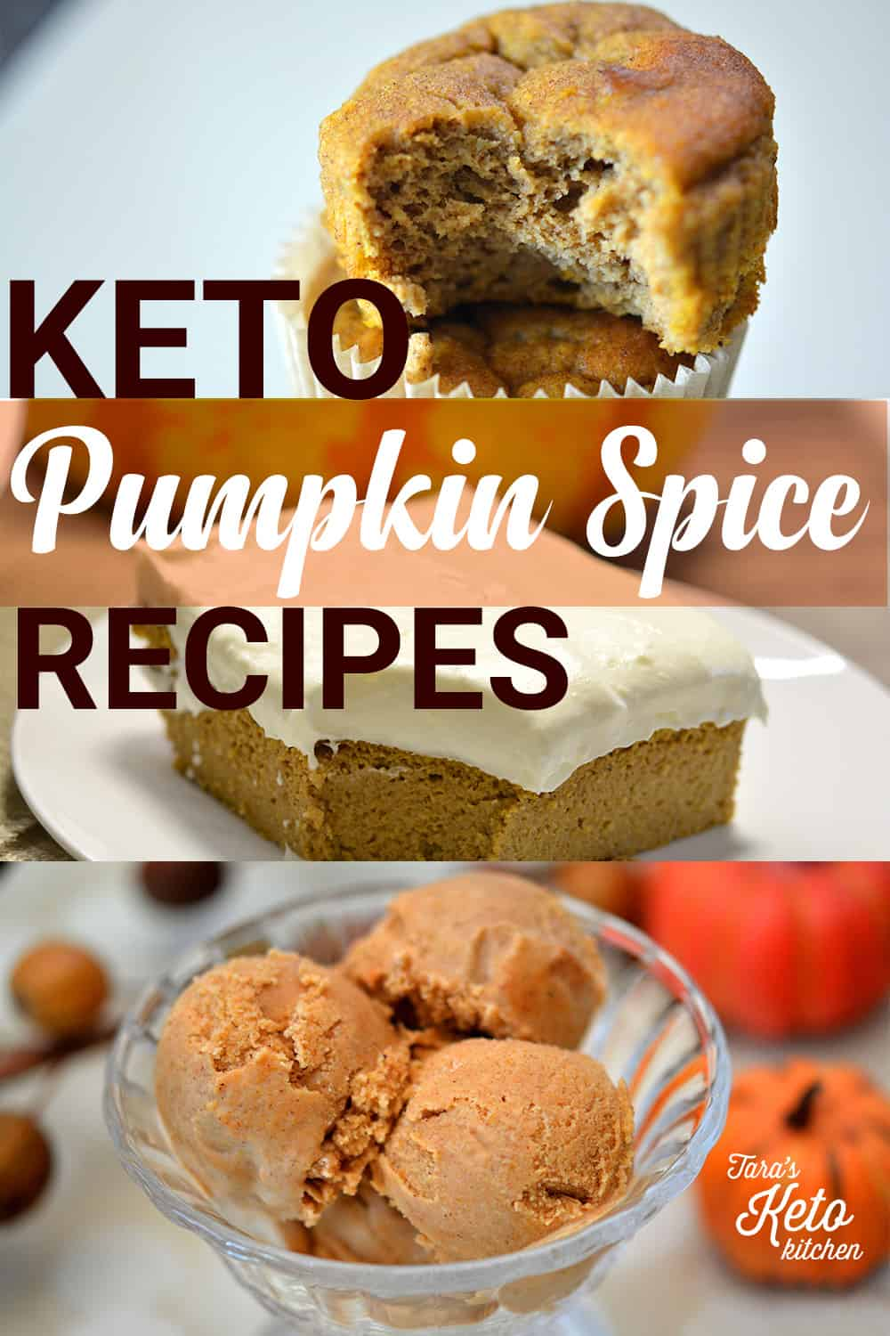 three keto pumpkin spice recipes
