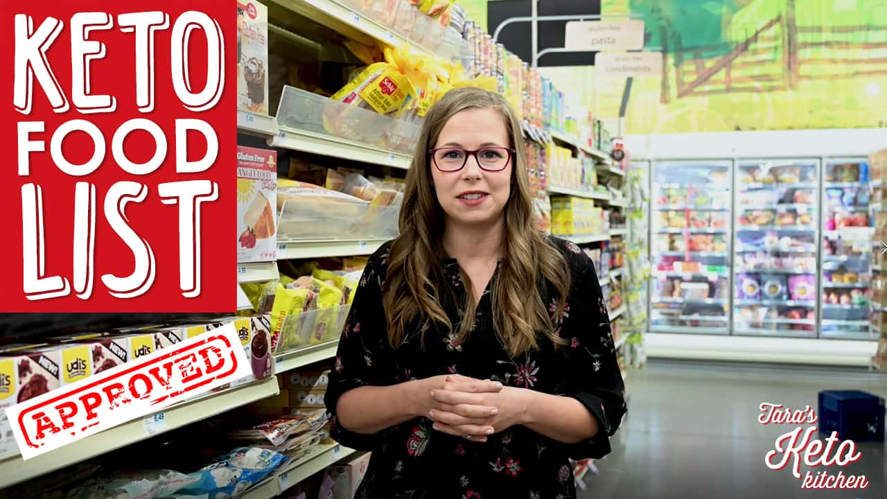 how to find keto food at the grocery store including zero carb foods