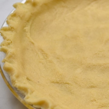 Keto Press In Pie Crust in a pan