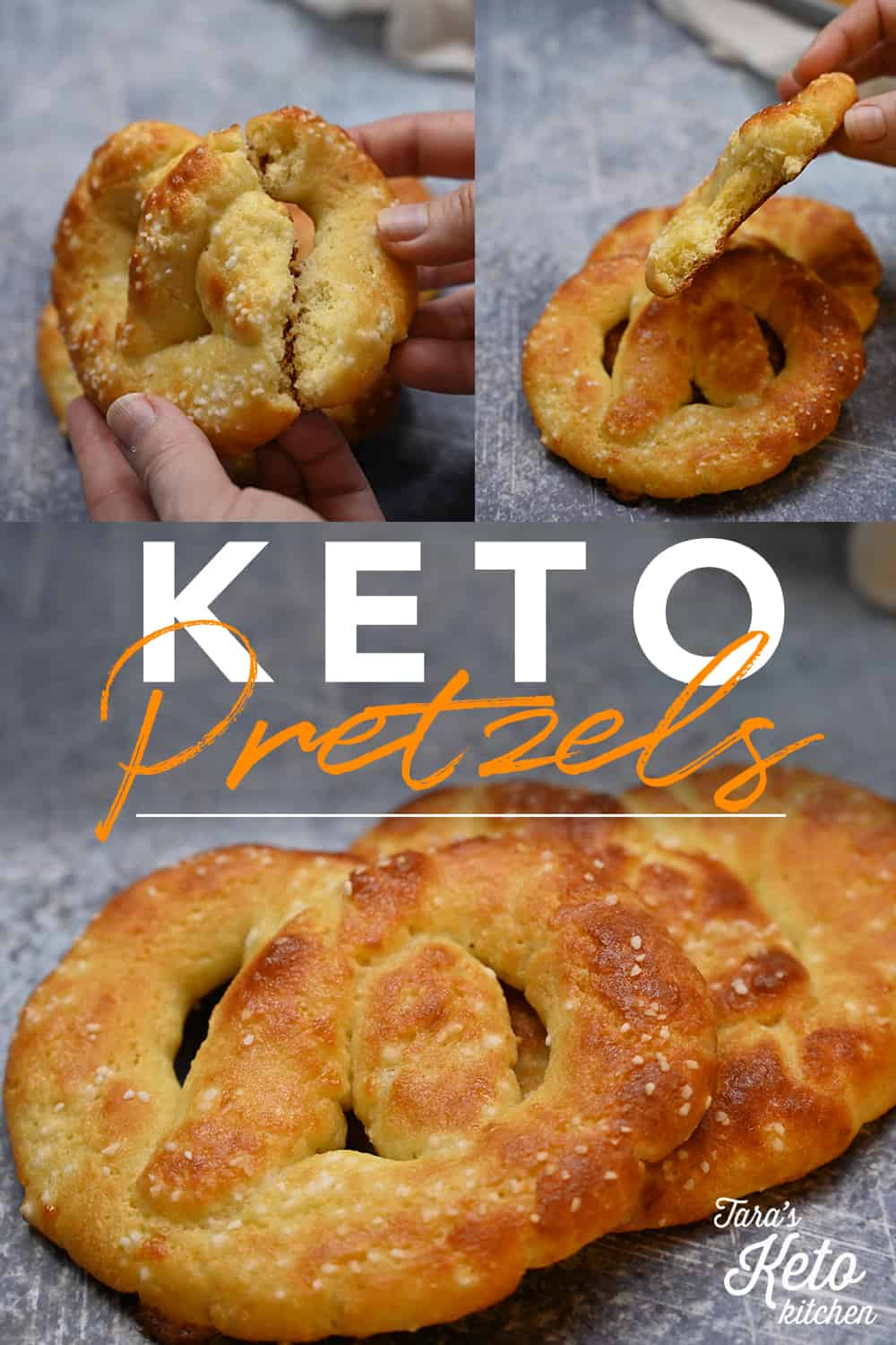 keto pretzels image for pinterest