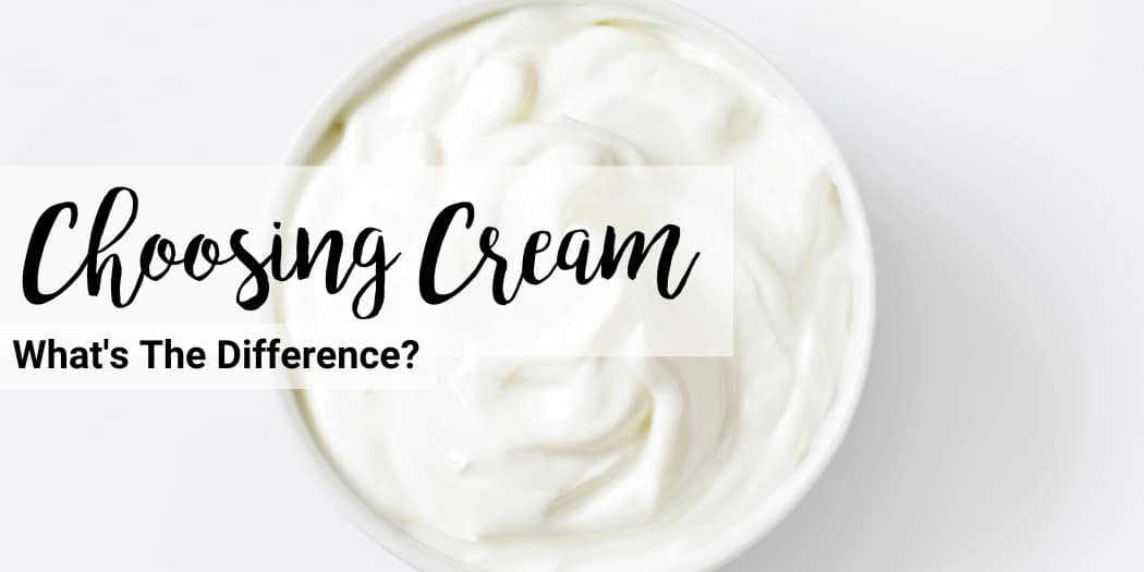 how to choose cream for the keto diet in the grocery store and whats the difference between heavy cream vs heavy whipping cream