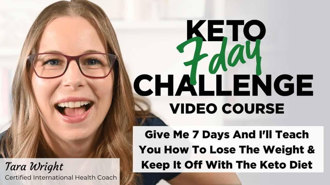 Give me 7 days and I'll teach you how to lose the weight and keep it off with the keto diet