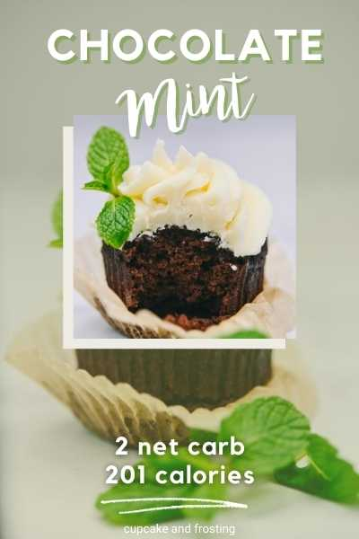 The Keto Cupcake Cookbook  Chocolate Mint Cupcakes