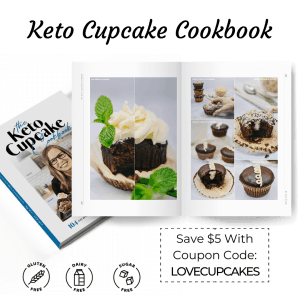 the keto cupcake cookbook