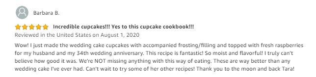 keto cupcake cookbook review barbara