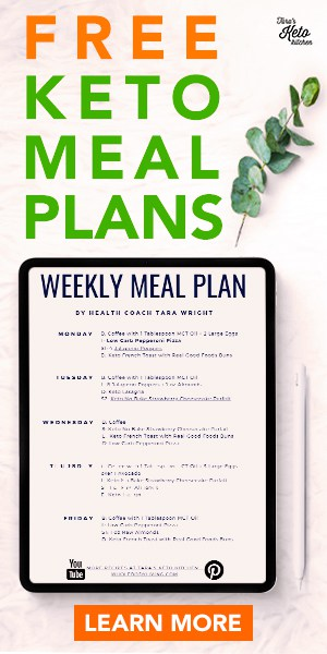 free keto meal plans for the keto diet