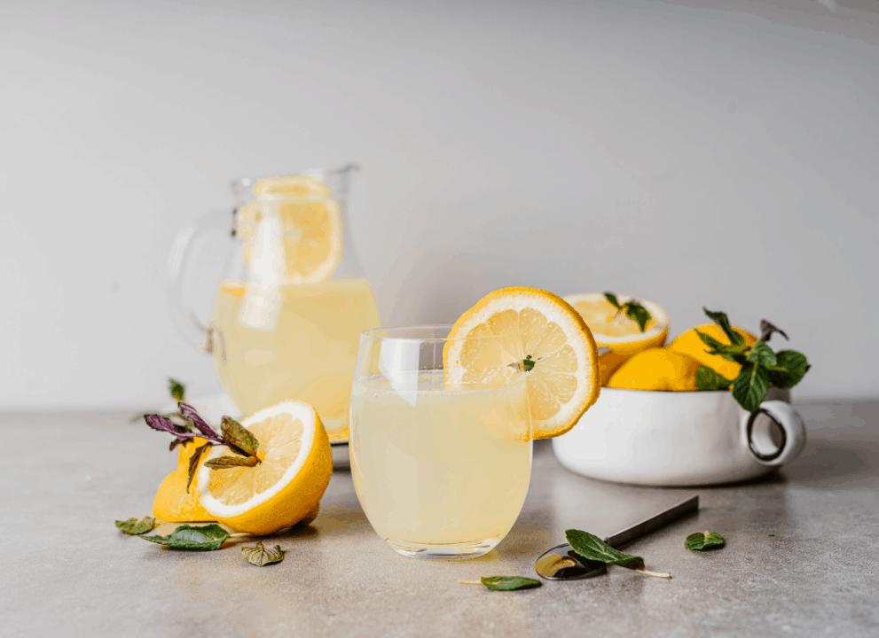 Homemade Keto Lemonade