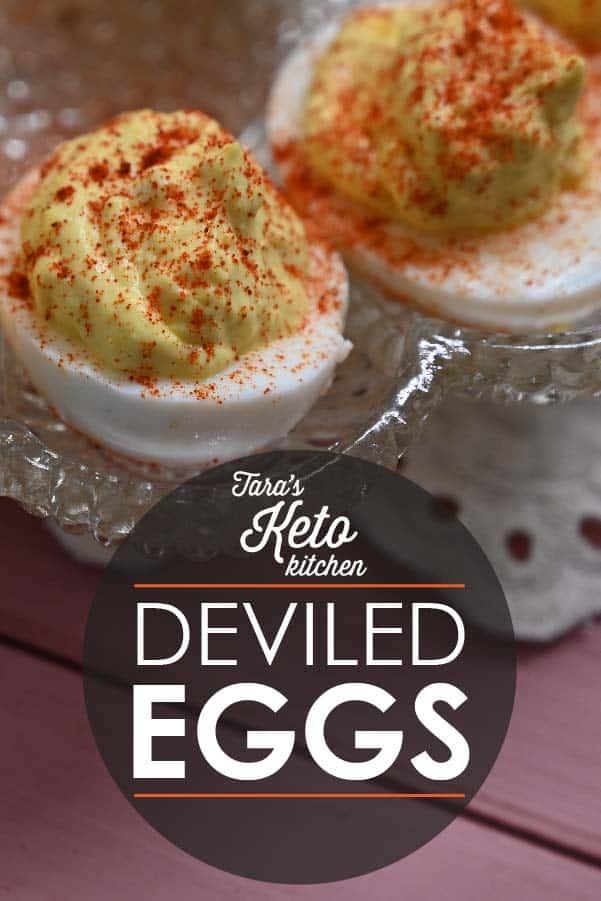 Tara's Keto Kitchen Deviled Eggs