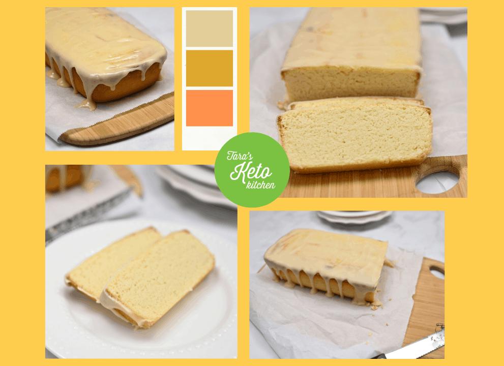 Glazed Keto Pound Cake